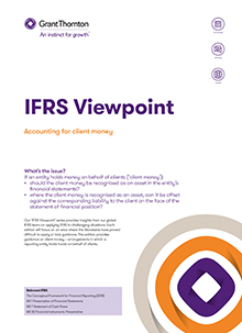 IFRS Viewpoint 11 cover image